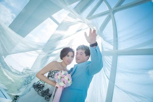浪漫教堂婚紗攝影-【桃園婚攝Ume】