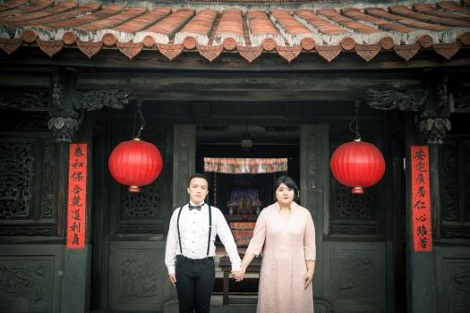 中式復古婚紗照-桃園婚攝Ume優美