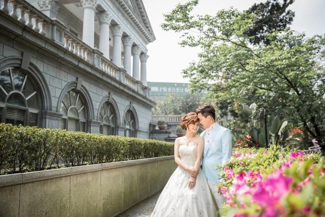 歐式建築婚紗照-桃園婚攝Ume
