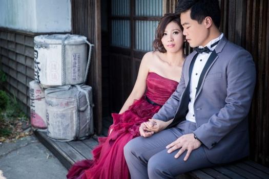 日式建築婚紗照-桃園婚攝Ume