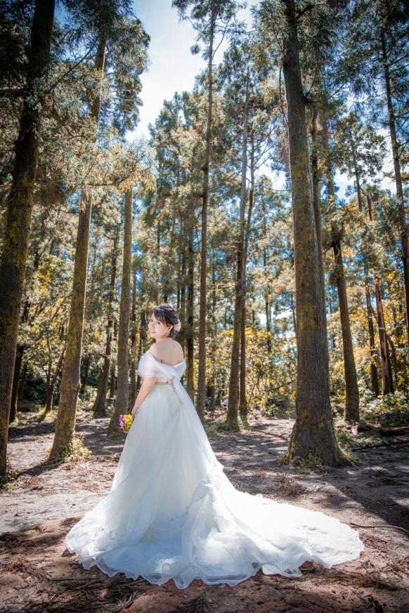 森林系婚紗-桃園婚攝Ume李優美